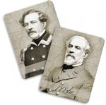Robert E. Lee Changing Image Portrait Fridge Magnet